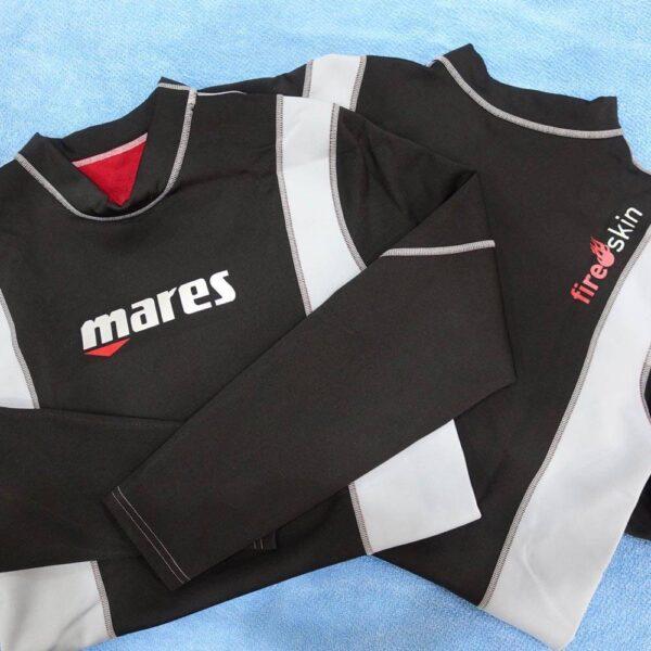 Mares FIRE Skin Rash Guard