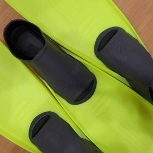 IST F20 Super Full Foot Fin Yellow/Grey (Euro 40-42) Kota Kinabalu | Borneo Dream Dive Shop