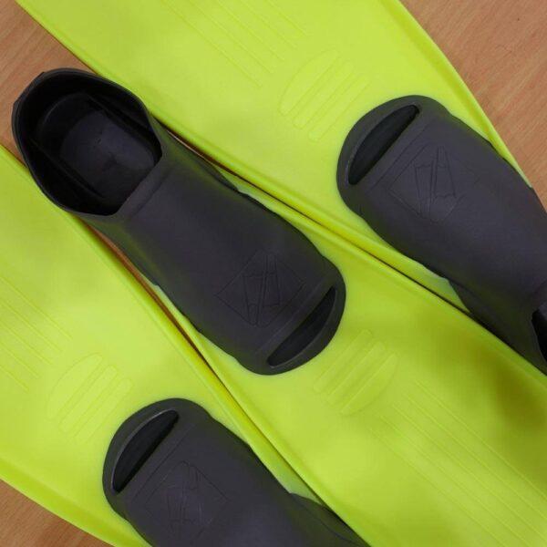 IST F20 Super Full Foot Fin Yellow/Grey (Euro 40-42) Kota Kinabalu | Borneo Dream Dive Shop