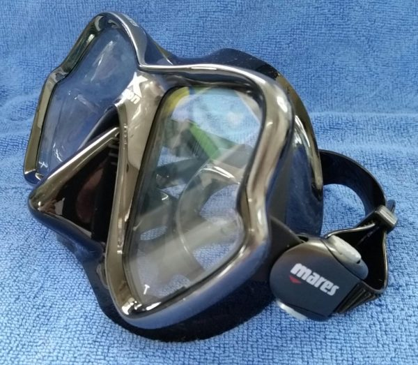 The stylish Mares X-Vision Mask