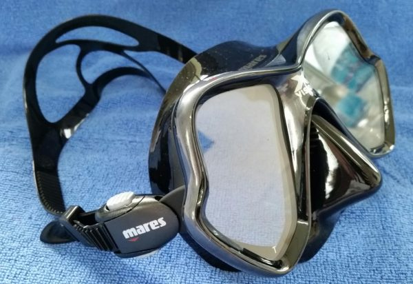 The great looks of the Mares X-Vison Mask