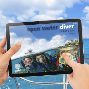 PADI Open Water Diver Touch on-line training Kota Kinabalu