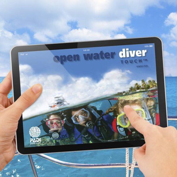 PADI Open Water Diver Touch on-line training Kota Kinabalu