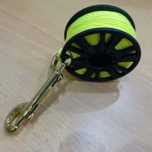 Reel Spool and Brass Snap Hook