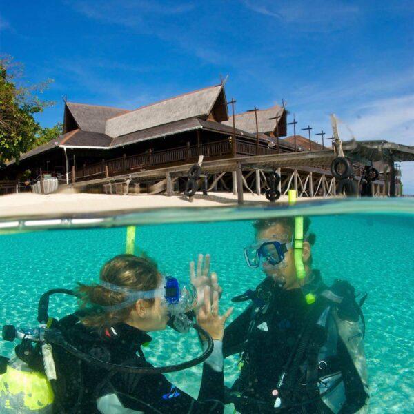Dive Sipadan - Mataking Island, Reef Island Resort, Borneo, Malaysia