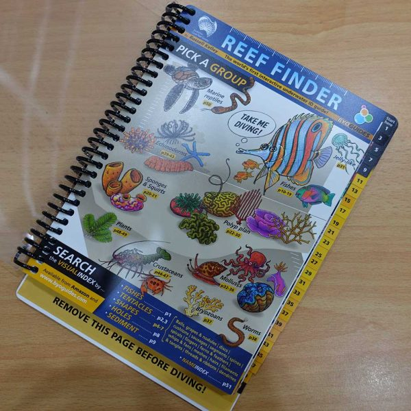 BYO Guides Reef Finder, Fish & Coral Identification Waterproof Book, Kota Kinabalu, Malaysia