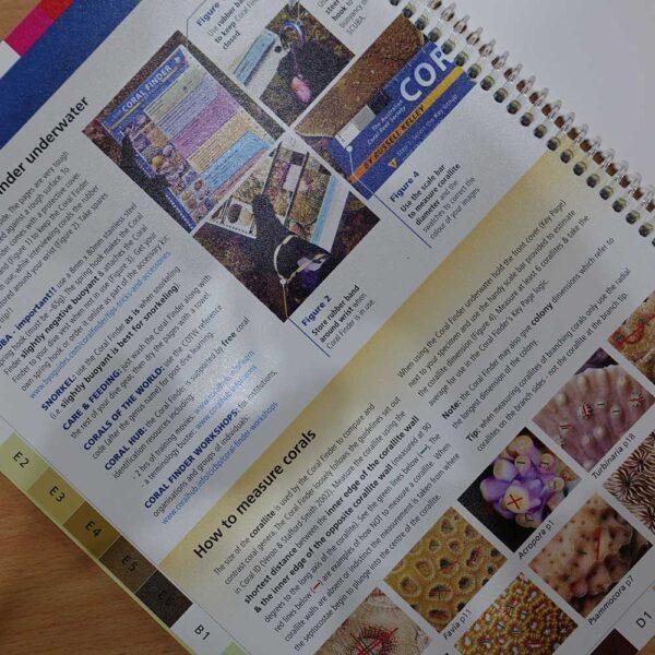 BYO Guides Coral Finder Waterproof Book, Kota Kinabalu, Malaysia