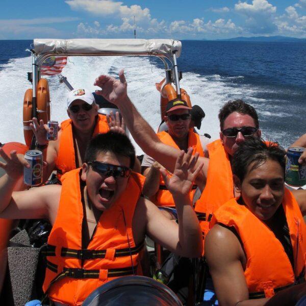 PADI Boat Diver Speciality Course, Kota Kinabalu, Malaysia