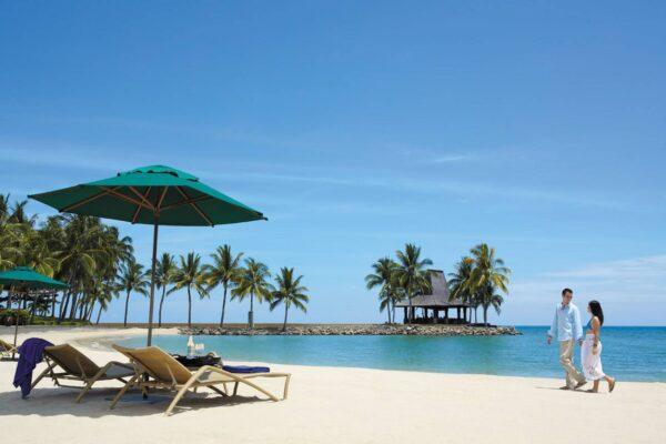 Beach at Tanjung Aru Resort
