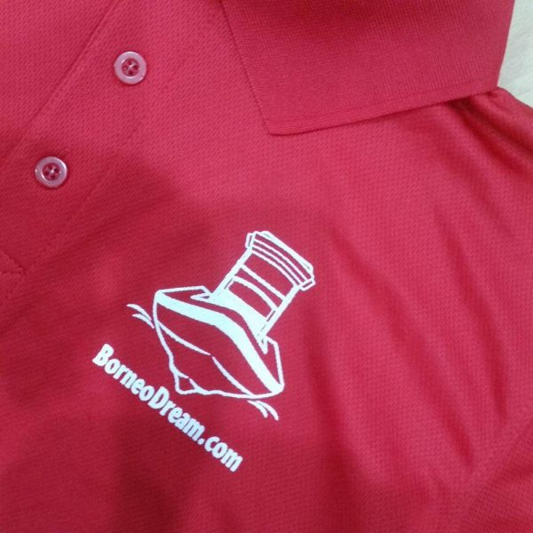 Borneo Dream Polo Shirt, Kota Kinabalu, Malaysia