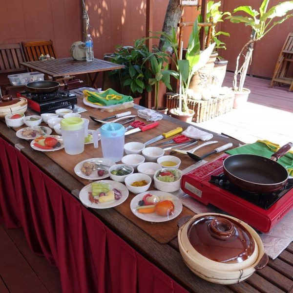 All set for a Borneo Traditional Cooking Class