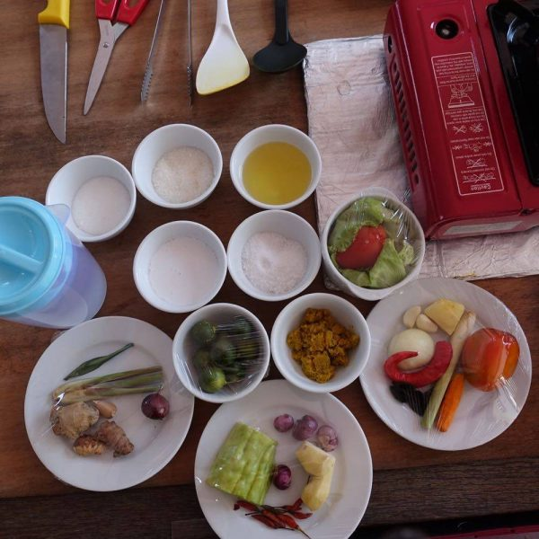 Ready to start cooking your traditional Borneo dishes