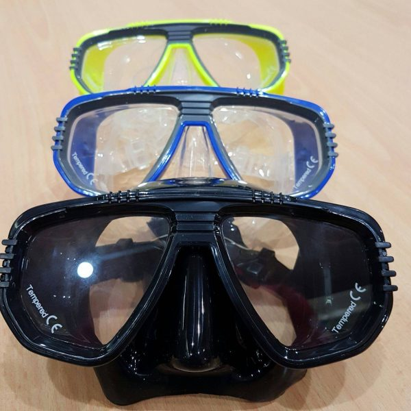 Scuba diving masks, the IST Corona mask is your answer