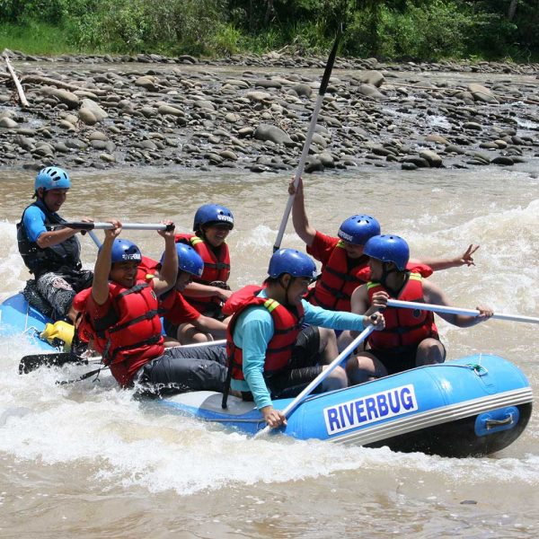 Experience and enjoy some white water rafting in Sabah