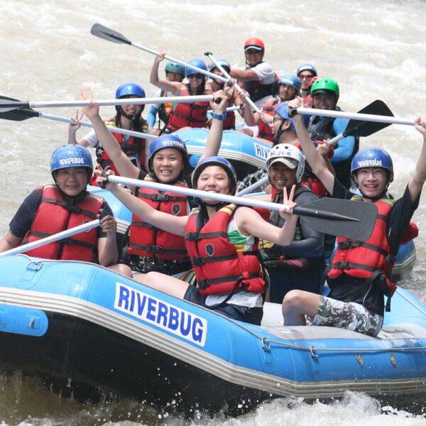 Enjoy some bonding with white water rating in Sabah