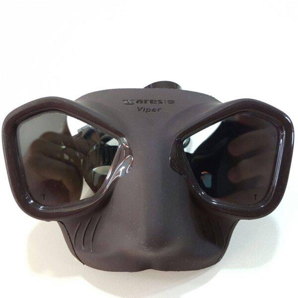 Black Mares Viper mask for scuba diving in Sabah