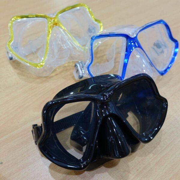 Mares Wahoo Mask, great for snorkeling or scuba diving adventures in Kota Kinabalu