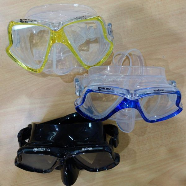 Great scuba diving and snorkelling mask, the Mares Wahoo mask