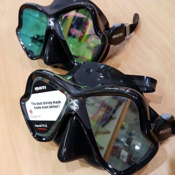 Great scuba diving mask | Mares X-Vision Ultra Liquid SKin