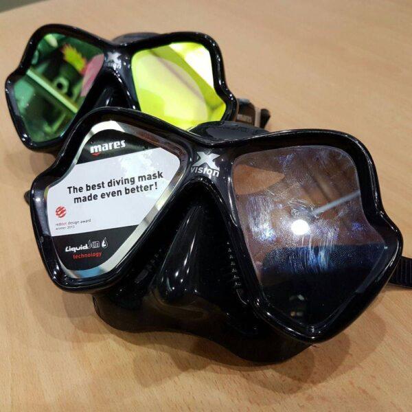 Scuba diving and snorkelling masks in Kota Kinabalu, Sabah