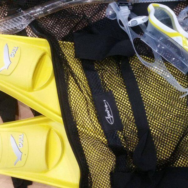 Seaport mesh dive bag