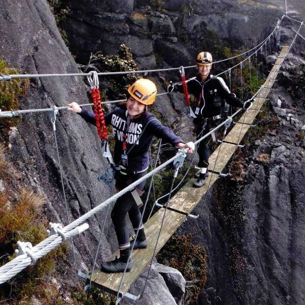 2D1N Climb Mt Kinabalu via Ferrata - Walk the Torq / Low's Peak Circuit