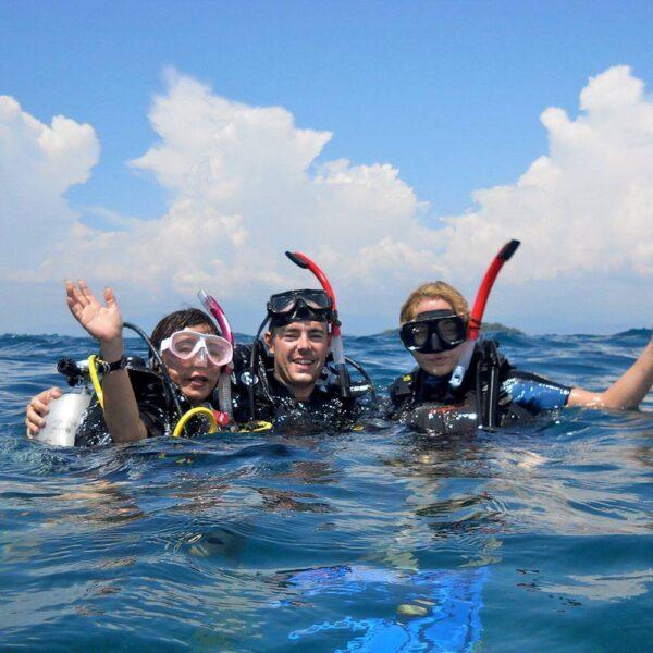 PADI Deep Diver Speciality Course, Kota Kinabalu, Malaysia