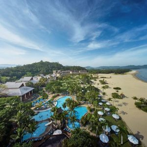 Scuba diving and snorkeling adventures at Shangri-la Rasa Ria Resort, Malaysia