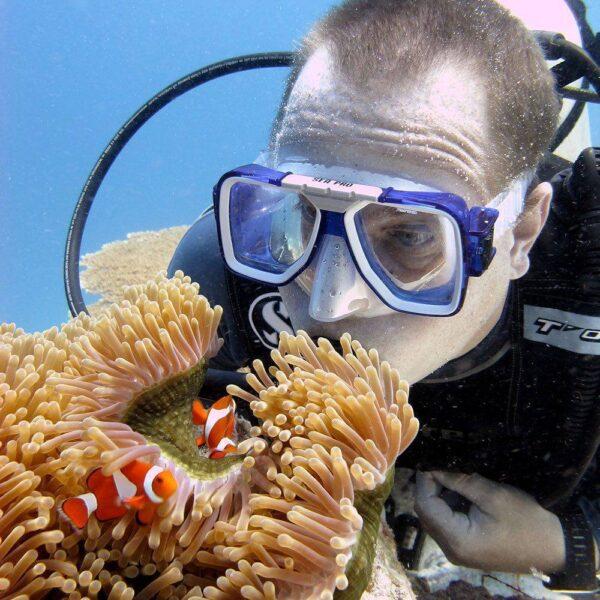 Scuba Diving at the Sutera Harbour Resort, Kota Kinabalu, Sabah