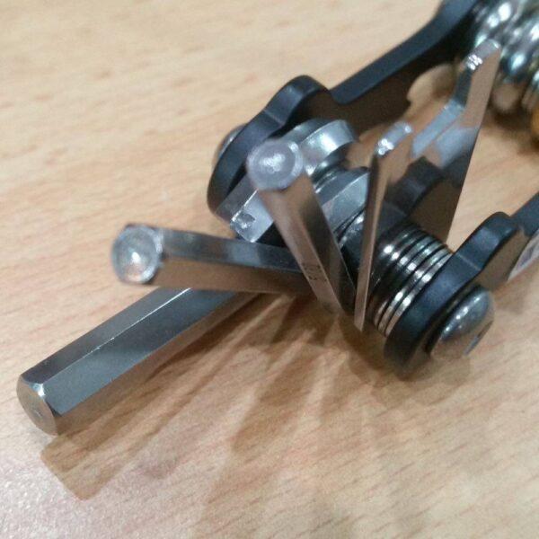 Allen keys and scuba tools