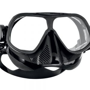 Scubapro Steel Comp Mask in black for Freediving