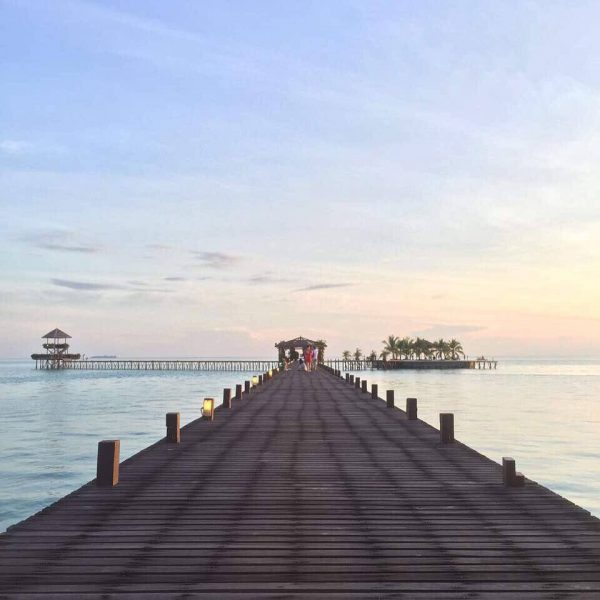 Kapalai Resort Jetty