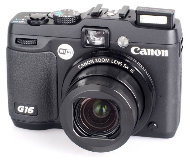 Rent a underwater camera | The Canon G16 Powershot