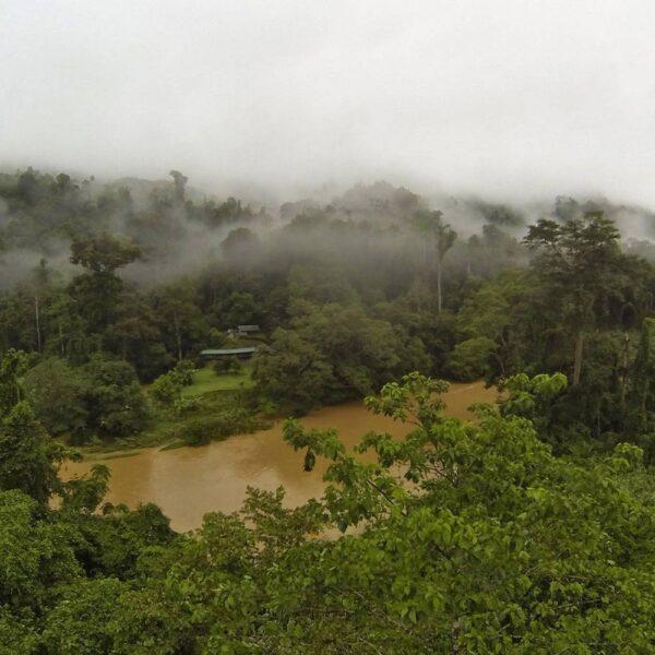 Aerial photo of Pungiton Camp