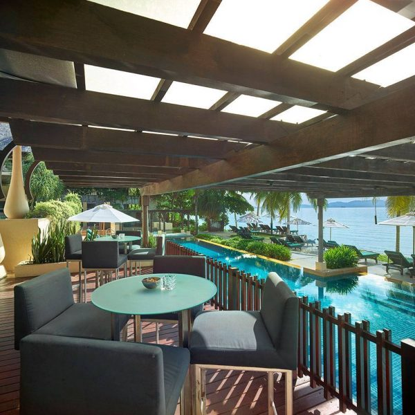 Gaya Island Resort, Kota Kinabalu, Malaysia | Terrace Bar