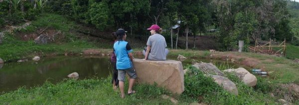 Be away from it all during an Orou Sapulot community project