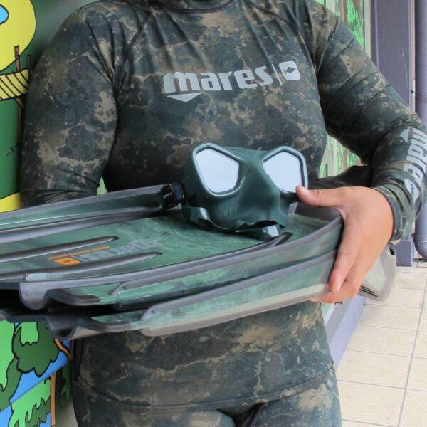 Mares top rash guard and pants in camo | Kota Kinabalu, Sabah