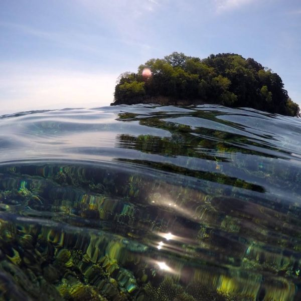 Tropical coral reefs in Borneo