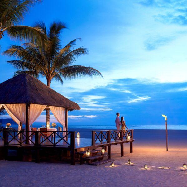 Shangri-La's Rasa Ria Resort and Spa | Gazebo at Night