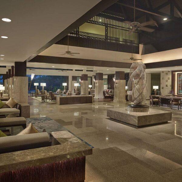 Shangri-La's Rasa Ria Resort and Spa | Ocean Wing Lobby