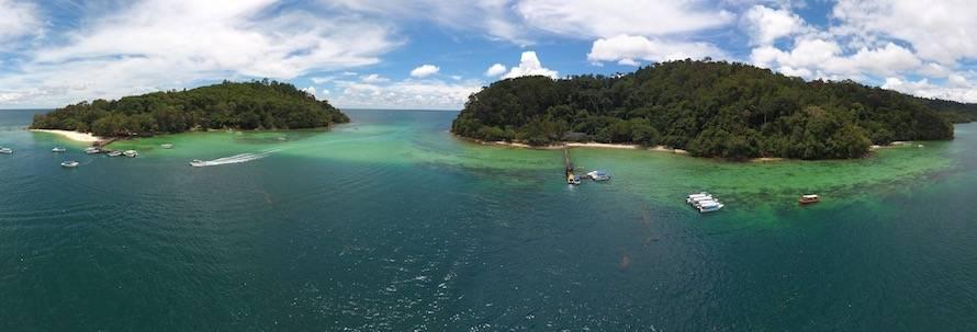 Best Diving Malaysia | Tunku Abdul Rahman Marine Park, Kota Kinabalu