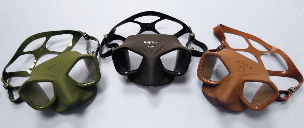 Freediving and spearfishing equipment | Mares Viper mask
