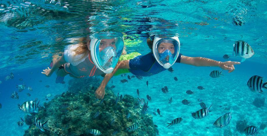 Tribord EasyBreath full face snorkelling mask