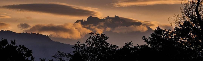 Mount Kinabalu at Dawn