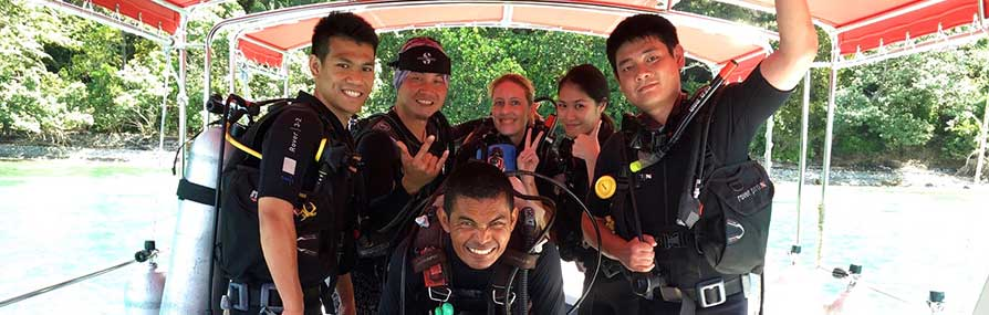 PADI Courses in Kota Kinabalu, Learning to dive in Sabah with Borneo Dream, Kota Kinabalu