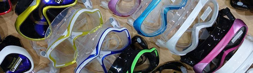 Snorkel mask and scuba mask always in stock for your Sabah Adventure - Book today!